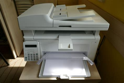 Uninstalled hp printer and rstarted both laptop and printer and reinstalled printer. PRINTER hp-multifunkcijski uređaj laserjet pro mfp m130fn
