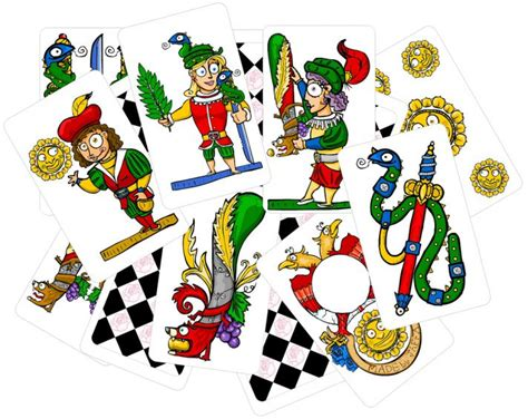 collection  playing cards clipart