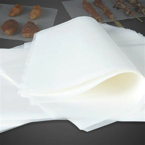 paper baking parchment greaseproof silicone sheets wrap 35x25 30x20