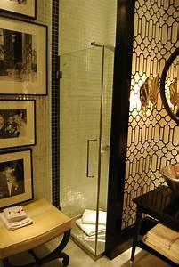 art deco bathroom hollywood regency bathroom With art deco black and white bathroom