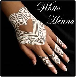 Weißes Henna Tattoo : 5x golecha white henna paste cones weisse kegel paste no ppd no ammonia 125g ebay ~ Frokenaadalensverden.com Haus und Dekorationen