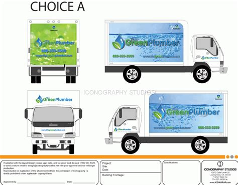 Truck Wrap Templates by Vehicle Wrap Design By Icongraphy Orange