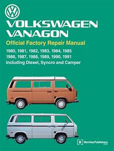 Volkswagen Vanagon Official Factory Repair Manual 1980-91 Vanagons