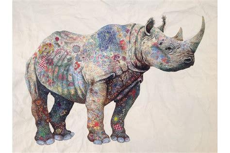 black rhino sophie standing art sophie standing art