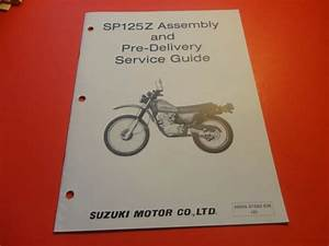 Oem Factory Suzuki Assembly  U0026 Predelivery Service Guide