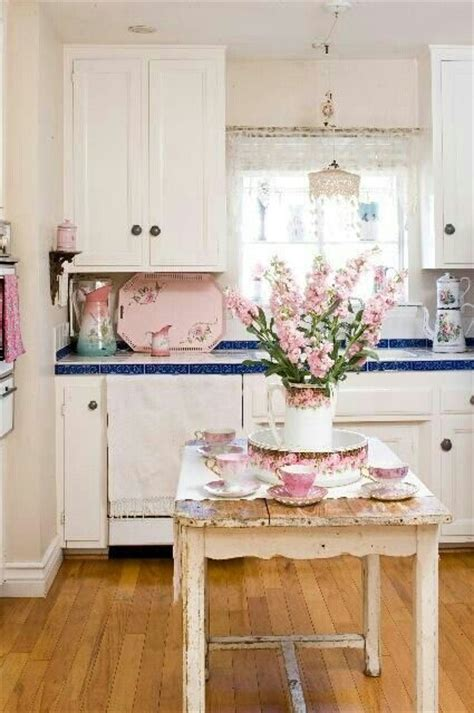 pictures of shabby chic kitchens shabby chic kitchen cottage shabby french chic pinterest