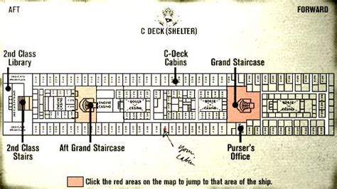 titanic deck plans with room numbers titanic review and walkthrough