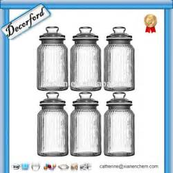 glass kitchen canisters airtight wholesale bulk airtight ribbed airtight kitchen glass canister buy canister glass canister