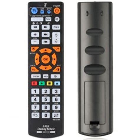 chunghop universal tv remote control rm es black