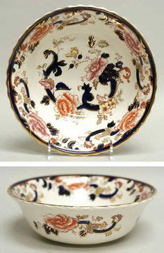 blue bouquet salad serving bowl 1000 images about masons ironstone mandalay blue on