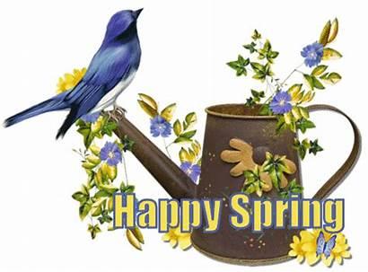 Spring Happy Bird Graphics Glitter Seasonal Seasons