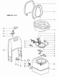 Caravansplus  Spare Parts Diagram   C200