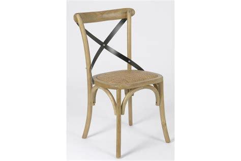 la chaise de bois angers chaise croisillon en bois massif bistrot hellin
