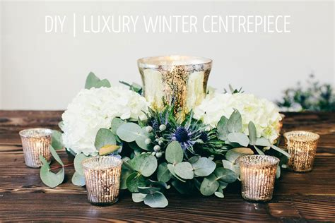 10 diy projects for winter wedding centerpieces on a