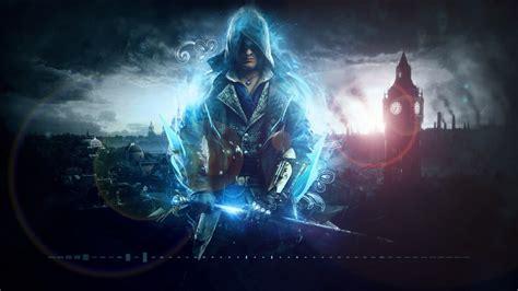 assassins creed blue wallpaper engine
