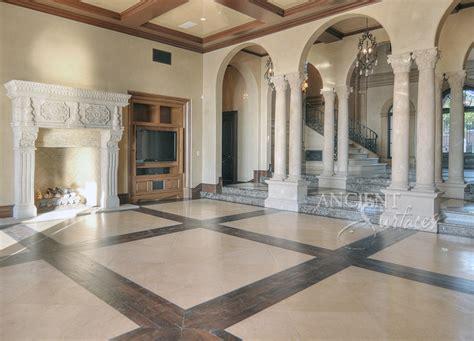 antique stone columns  ancient surfaces