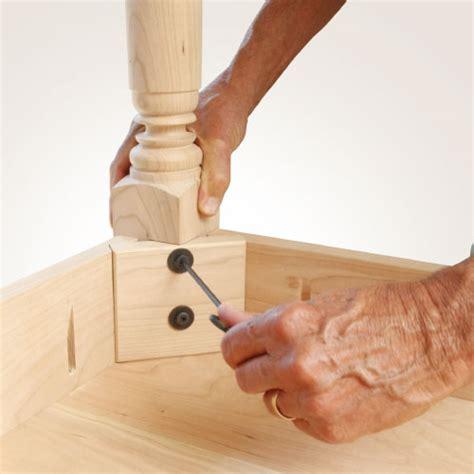 easy ways  attach table legs tablelegscom