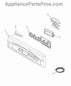 Parts For Maytag Mdb6650aww  Control Panel Parts