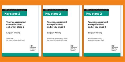 2018 Teacher Assessment Exemplification Ks2 English Writing