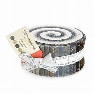 Modern Backgrounds Luster Metallic Jelly Roll by Zen Chic ...