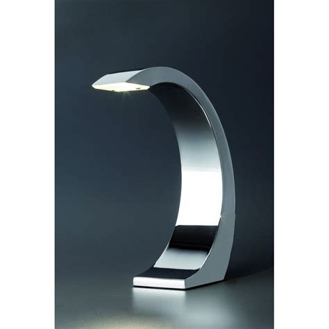 suspension luminaire chambre le chromée tactile led design