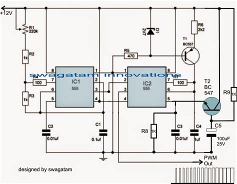 Easy Electronic Circuits Motor Soft Start Circuit Using