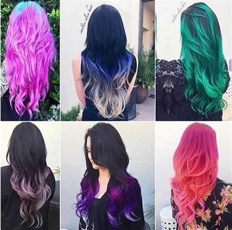 20 Hot Hair Color Styles The Latest Hair Dye Choice From