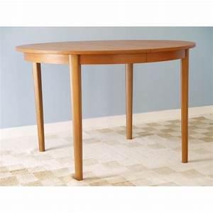 Table Ronde Scandinave Extensible : table de repas vintage scandinave ronde extensible la ~ Melissatoandfro.com Idées de Décoration