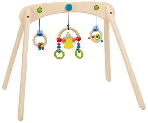 table d activité avec siege rotatif portique en bois arcada hauteur réglable