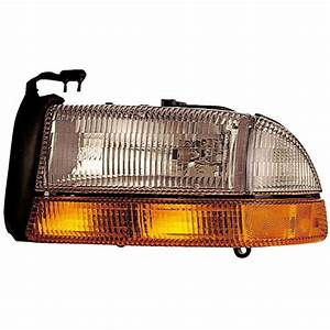 2000 Dodge Dakota Headlight Assembly From Car Parts
