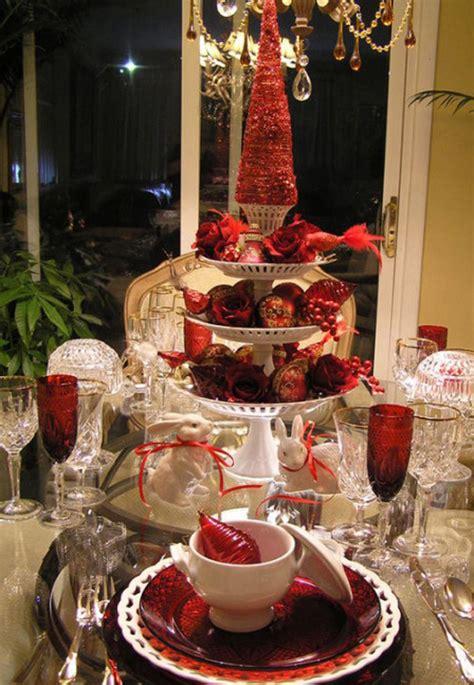 christmas table setting design ideas home design lover