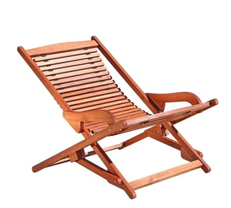 outdoor wood reclining folding lounge outdoor folding