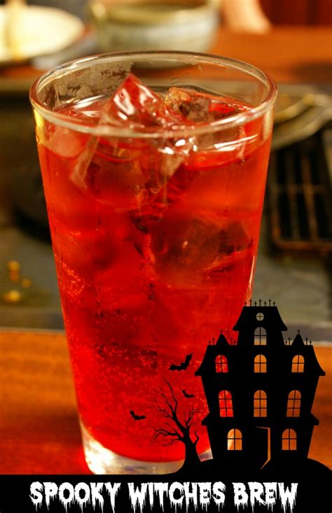 witches brew halloween cocktail spooky seasonal drink