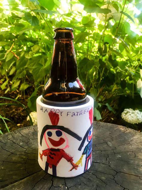 DIY foam custom koozie can and bottle drink cooler for Dad ...