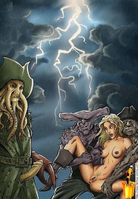 Davy Jones Pirates Of The Caribbean