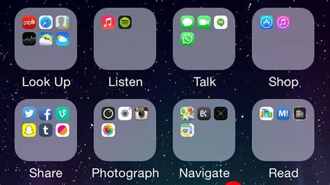 arrange apps on iphone formas de organizar las aplicaciones en iphone y