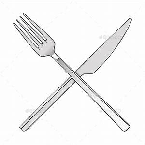 Knife And Fork Silhouette » Dondrup.com