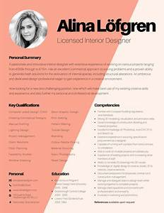 creative interior designer resume templates by canva With interior designer cv