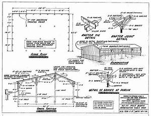 163 Free Pole Shed  U0026 Pole Barn Building Plans And Designs