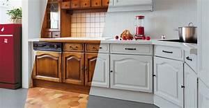 modele de cuisine en bois repeindre mzaolcom With repeindre sa cuisine en noir