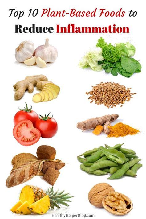 Top 10 Plant-Based Foods to Reduce Inflammation   Diet