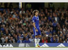 Chelsea vs Liverpool David Luiz left with bloody nose