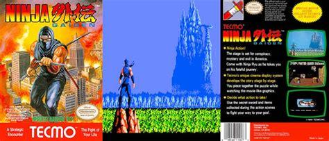 Ninja Gaiden Nes In Depth Review Retro Cemetery