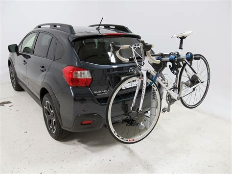 subaru crosstrek bike rack subaru xv crosstrek thule helium aero 2 bike rack 1 1 4