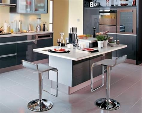 tables de cuisines table ilot central cuisine cuisine solutions sous vide