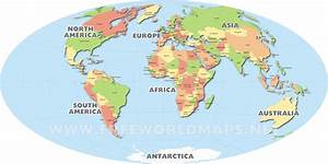 World Map Political With Country Names Free Download And ...