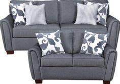 simmons 174 flannel charcoal living room collection at big