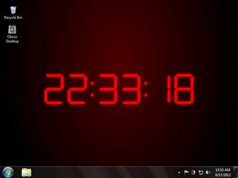 Animated Clock Wallpaper For Pc - clock wallpaper for computer wallpapersafari