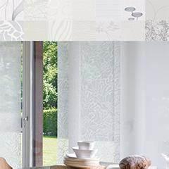 Schiebegardinen Weiß Mit Muster : schiebegardinen stoffe online aussuchen teba ~ Markanthonyermac.com Haus und Dekorationen