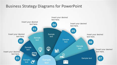 business strategy diagram powerpoint